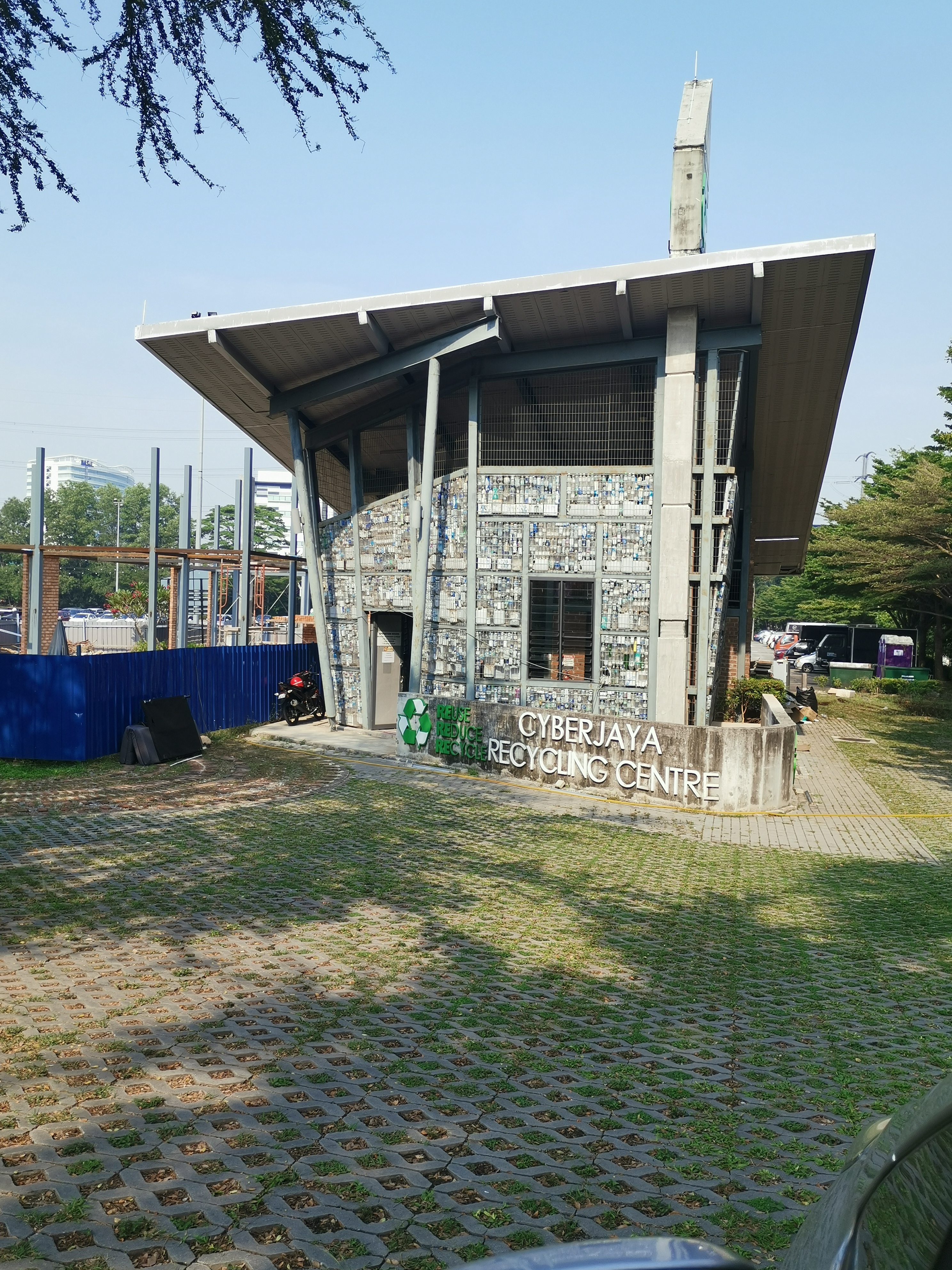 Cyberjaya Recycling Centre front view