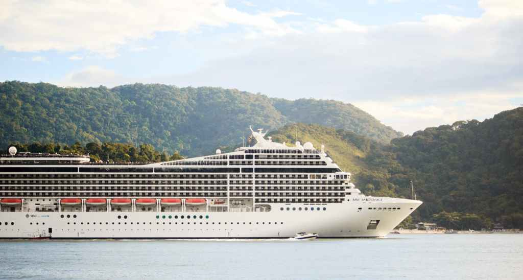 Seafaring holiday on the cruise was not spared by the unprecedented Covid-19