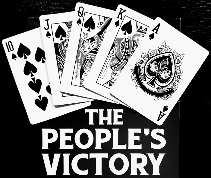2020, it's a royal flush of the people this year.