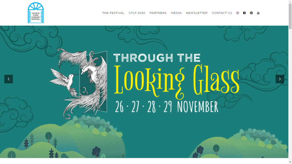 Paying homage to Malaysia's very own lit fest, the George Town Literary Festival.