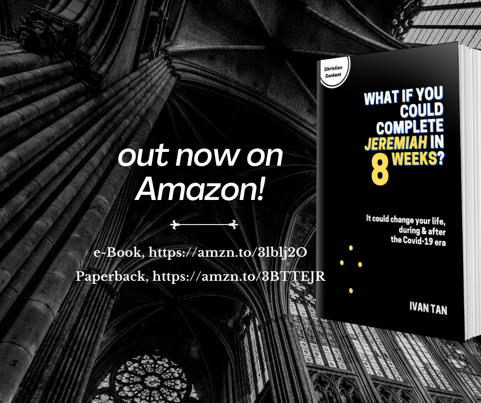 """""""What If You Could Complete Jeremiah In 8 Weeks?"""" is available in both paperback and e-book formats on Amazon."""